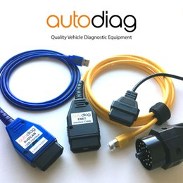 lexus diagnostic tester NZ - Complete BMW Diagnostic Coding Package KDCAN ENET 20pin Adapter Tools