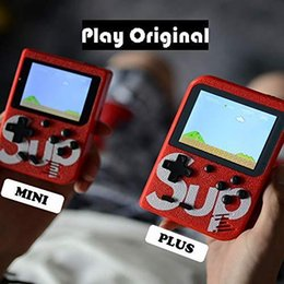 video game consoles md Australia - SUP Mini Handheld Game Console Retro Portable Video Game Console Can Store 400 Games 8 Bit 3.0 Inch Colorful LCD Cradle Design Free Shipping