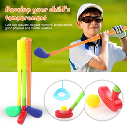 $enCountryForm.capitalKeyWord Australia - 1 Set Children Kids Golf Club Toys Mini Golf Game Baby Grasping Ability Developing For Indoor Outdoor