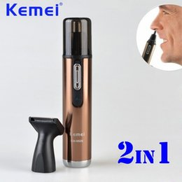 Hair Cutters Machine Australia - Hot sale Electric Rechargeable Nose and Ear Hair Trimmer Removal Fashion Safe Face Care Shaving Machine Hair Cutter free shipping