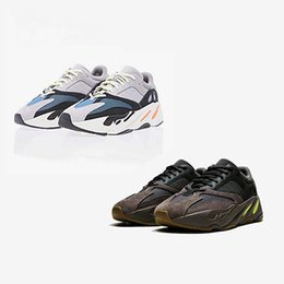 c63c364402edc 2017 Con Box Runner Hombres y mujeres Wave Runner 700 Corriendo Negro Gris  Azul Zapatos Zapatillas Zapatillas Envío Gratis