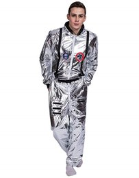 db8eb0aa2281ba Men Astronaut Cosplay Suits Space Halloween Clothing Women Costumes Party  Clothes