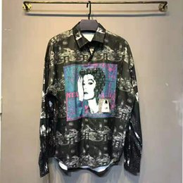 best printed shirts Australia - Best Version Cav Empt Digit Women Printed Women Men Casual Shirts Hiphop Oversized Men Casual Shirts Streetwear