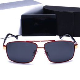 Luxury Picture Frames Australia - 150 NEW Free shipping luxury sunglasses design lens and UV400 lens Picture frame and its metal leg is wrapping material