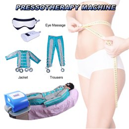 Vacuum lymphatic machine online shopping - pressotherapy lymphatic body slimming lymphatic drainage equipment Air pressure reduce weight massage body shaping vacuum machine