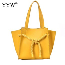 Yellow Hand Bags Australia - Women Shoulder Bag Summer Soft Handle Hand Bags 2019 Large Yellow Handbag Capacity Casual Designer Crossbody Bag For Female