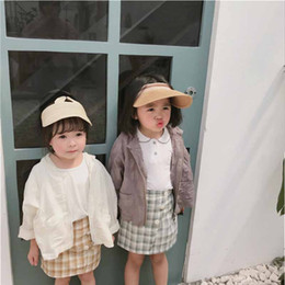 Shirt Poncho Australia - Children sun protective clothing 2019 summer new ultra-thin outer air conditioning shirt sun-protective clothingD103