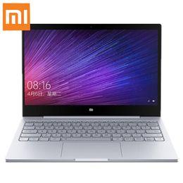 "Discount laptops dual camera - Original Xiaomi Mi Air Ultra-thin Notebook 12.5"" Windows 10 Intel Core M3 7Y30 4GB 128GB 1.0MP Camera Dual Band WiF"