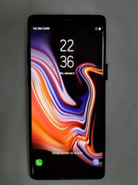 Unlocked Cdma Smartphone Canada - Goophone note9 6.3inch Real Touch ID 4g Lte Phone Quad Core 1G Ram 16G Rom Add 64G Card Unlocked Smartphone Goophone note 9