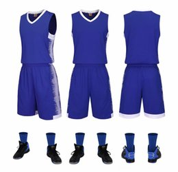 apparel uniforms Canada - Basketball Jerseys Uniforms Sports Clothes Jerseys Kids Adult Customized Shirts With Boxing Wear Athletic & Outdoor Apparel Basketball Short