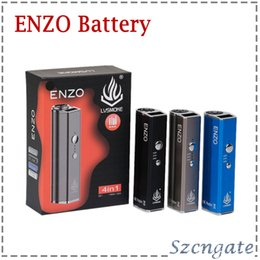 $enCountryForm.capitalKeyWord NZ - 100% Original LVSMOKE ENZO 4 in 1 Box Mod 450mAh Variable Voltage Vape Battery For Thick Oil Wax Dry Herb Cartridges Tank 0266289-1