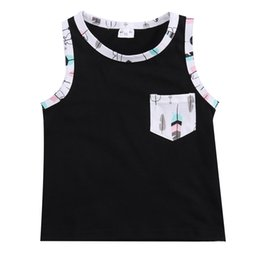 Boys Sleeveless Vest Australia - 2pcs 2019 New Arrive Sleeveless Toddler Kid Baby Boy Summer Outfits Vest+Shorts Clothes Set 1-3Y KIDS