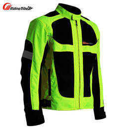 Nylon Racing Motorcycle Jacket Australia - summer Motorcycle men's woman's jacket Moto Protective Gear Jacket men Racing Reflective oxford clothing Motorbike jackets