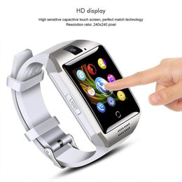 $enCountryForm.capitalKeyWord NZ - Q18 Smart Watch Multi-Language Sim Card Curved Touch Screen Phone Call Smartband For Women Men Sport Wristwatches Clock