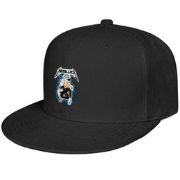 $enCountryForm.capitalKeyWord Australia - Metallica Metal Up Your ass electric shock Snapback Flat Cap Outdoor All Cotton Caps Fit Dad Mens Women Hat