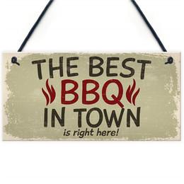Best Sheds Australia - Best BBQ Pit Hanging Garden PVC Sign Barbeque Shed Summer House Plaque Dad Grandad Gift For Him