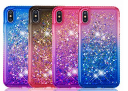 Floating cases online shopping - NEW FASHION Glitter Quicksand Liquid Floating Sparkle Shiny Bling Diamond Phone Cases For x xr Samsung S8
