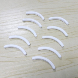 $enCountryForm.capitalKeyWord Canada - 10pcs Replacement Eyelash Curler Refill Rubber Pads Curling Styling Makeup Beauty Tools White