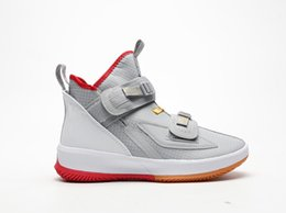 46 football shoes online shopping - Soldier XIII Basketball Shoes Black Gray New Mens s Sports Man Basket Sneakers Shoes Size