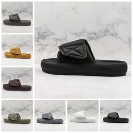 $enCountryForm.capitalKeyWord Australia - 6 Season Slide Men Women Designer Sandals Shoes Sandalias Luxury Slide Summer Fashion Wide Flat Slipper Sandals Slipper Flip Flop Size 12