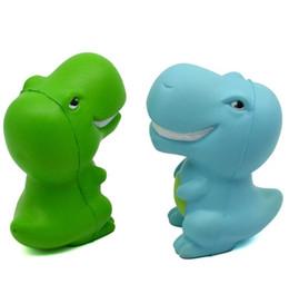 dinosaurs soft toys 2019 - Squishy dinosaur Toys Slow Rising Soft Oversize Phone Squeeze toys Pendant Anti Stress Kid Cartoon Decompression Toy Nov