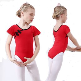 307a4f67a53b Children Ballerina Cotton Ballet Dance Gymnastics Leotard for Girls  Bodysuits Skate Costume Dancing Clothes Clothing Dancer Wear