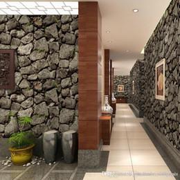 $enCountryForm.capitalKeyWord Australia - Vintage Wall Paper Waterproof PVC Wallpapers 3d Stone Wallpaper Contact Paper 3D Wall Panels Vinyl Wood Wallpaper Roll for Walls