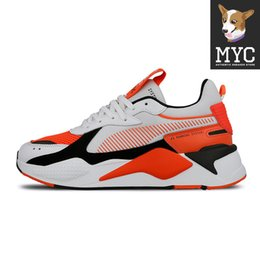 Wholesale Transformers RS X Running Shoes Casual Trainer Womens Sport Shoes Four colors Orange Fashion Designer Men Sneakers Size