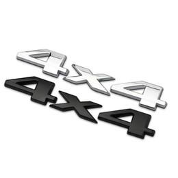 $enCountryForm.capitalKeyWord Australia - 3D Metal 4X4 Car Side Fender Rear Trunk Emblem Badge Sticker Decals for Universal Cars Moto Bike Decorative Accessories