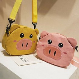pig statues NZ - Pudcoco Women Baby Girls Shoulder Bag Small Handbag Tote Satchel Ladies Pig Messenger Cross Body Plush Purses