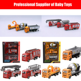 Cars dump online shopping - Engineering Car Toys Set Mini Alloy Engineering Car Model Tractor Toy Dump Truck Model Classic Toy Vehicles Mini Gift For Boys
