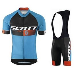scott bikes Canada - Best Uci Team Scott Cycling Jersey 9d Pad Bike Shorts Set Mtb Mens Summer Ropa Ciclismo Cycling Wear Pro Bicycle Maillot Culotte