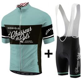 Опт NEW Morvelo лето задействуя одежда езда на велосипеде одежды наборы короткий рукав нагрудник шорты мужские летние наборы