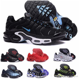 Cotton Cover ups online shopping - 2019 New Casual Shoes tn Men Shoes tns plus Fashion Increased Ventilation Casual Trainers Olive red blue black Sneakers air Chausseures