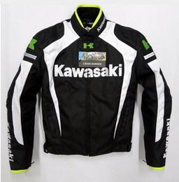 Racing Motorcycle Jackets Australia - New arrive for kawasaki Motorcycle Jacket motocross sports Racing Jackets Oxford Cloth Windproof zipper closure Keep warm J
