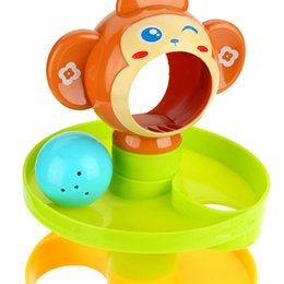 Developmental Toys Australia - Baby Childern Tower Puzzle Rolling Ball Bell Stackers Toys Kids Developmental Toy Play With Your Children Together To Tease Baby Happy