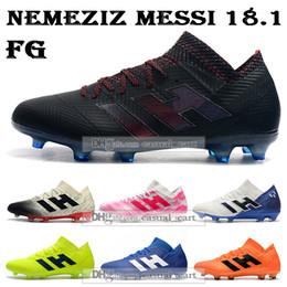Cheap firm ground football boots online shopping - GIFT BAG Cheap Mens High Tops Football Boots Nemeziz Firm Ground Cleats Nemeziz Messi FG Outdoor Soccer Shoes