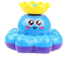 $enCountryForm.capitalKeyWord NZ - Baby shower toy Electric water spray cartoon octopus steamer toy bathroom floating play water one pcs