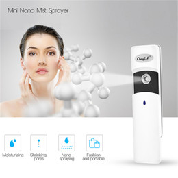 nano face steamer UK - Moisturizing Facial Steamer Face Skin Spa Humidifier Deep Cleaning Pore Cleanser Handy Nano Mist Steam Sprayer Beauty Instrument SH190727