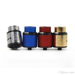 dripping art Australia - New 528 Goon Lost Art Edition Goon RDA Atomizer 24mm goon lostart rda with Wide Bore drip tip fit 18650 Battery Vape Mods DHL free