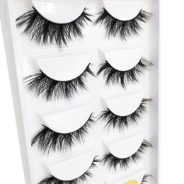 z flash UK - Factory wholesale Z-2 the newest Flash girl Z series natural mink eyelashes 5pairs Handmade mink eyelashes custom packaging box