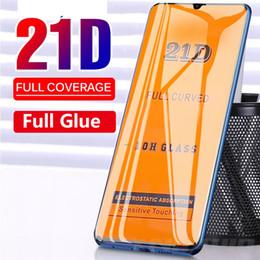 21d 9d cobertura completa protetor de tela do telefone de vidro temperado para samsung galaxy a90 a80 a70 a70 a60 a40 a40 a10 a20 em Promoção
