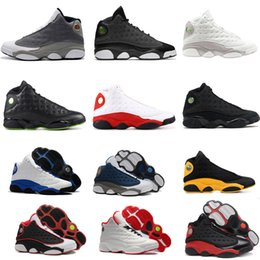 8c8ee408df5 2019 13 Basketball Shoes Bred Flints MELO CLASS OF 2002 Men Basketball  Shoes 13s Black Cat Hyper Royal WHEAT Wolf Grey Sneaker With Box