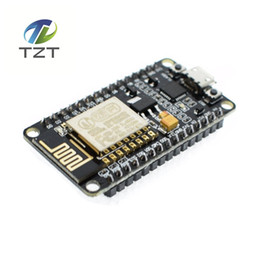 Base Antennas Australia - Freeshipping 5pcs Wireless module NodeMcu Lua WIFI Internet of Things development board based ESP8266 CP2102 with pcb Antenna and usb port