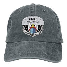 $enCountryForm.capitalKeyWord UK - 2019 New Cheap Baseball Caps United States Air Force Pararescue Emblem Trend Printing Cowboy Hat Fashion Baseball Cap