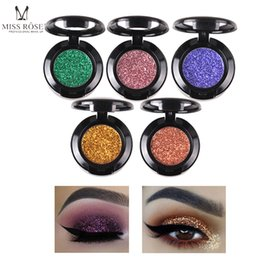 eye shadow palette contour makeup Australia - 27 Colors Glitter Eye Shadow Super Shiny Diamond Metal Eyeshadow Single Palette Professional Eye Contour Makeup Glitter Beauty