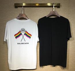 6f5e9e957047 19ss mulheres designer de estilo de camisa de t das mulheres tops brilhando  carta bordado top tee casual manga curta o pescoço mulher clothing