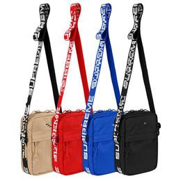 Sup 44.o paquete Paquete de baúl sup Unisex Paquete de cintura Bolsa de cintura de los hombres Lienzo Hip-Hop Cinturón de los hombres Bolsas de mensajero 18ss Bolso pequeño en venta