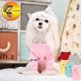 xs dog jacket Canada - Five color XS-3XL warm winter Dog sweater sweaters Puppy Clothes Vestidos vest cat Pets dogs coats Jacket Maltese clothing