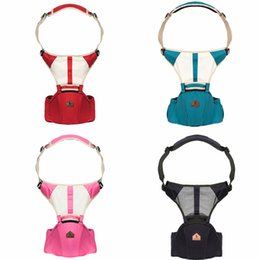 wholesale sling backpacks UK - Baby Carrier Infant Hip Seat Breathable Sling Hold Wrap carrier waist stool Backpack baby Simple Adjustable YL7001